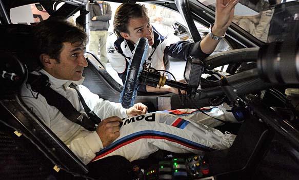Eπιστροφή στους αγώνες με BMW