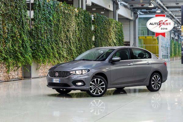 Fiat Tipo, Autobest 2016. Πηγή φωτογραφίας fiatpress.com