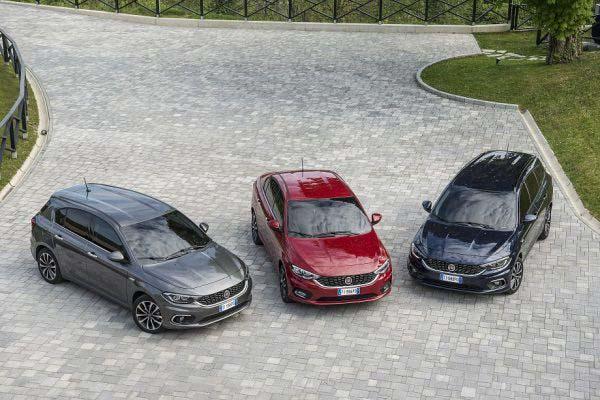 Όλη η οικογένεια Fiat Tipo. Πηγή φωτογραφίας fiatpress.com