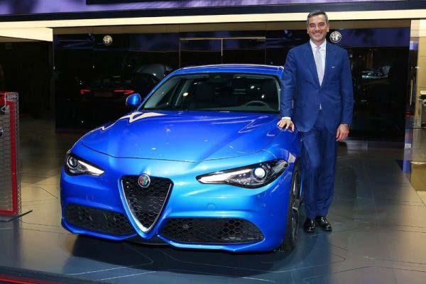 Ο Fabrizio Curci, Brand manager για την περιοχή ΕΜΕΑ της Alfa Romeo