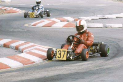 o Andrea De Cesaris με Καρτ (1977)