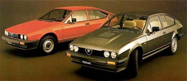 Alfetta GT & GTV6