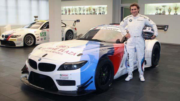 Η BMW Z4 GT3 με την οποία θα τρέξει ο Zanardi