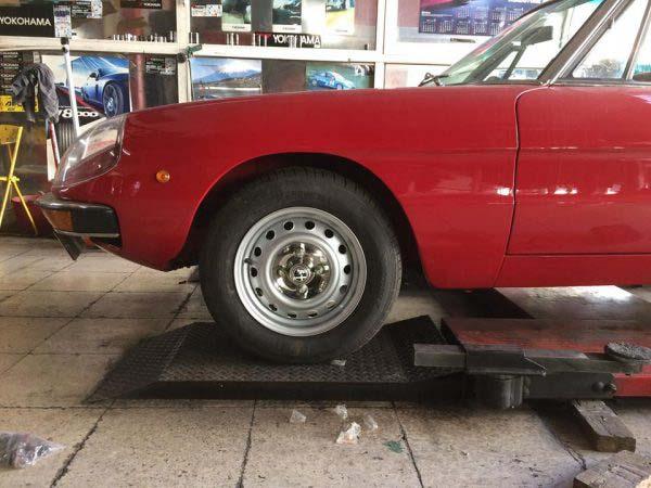 ...και έτσι οι σιδερένιες ζάντες αποκτούν stile Alfa Romeo