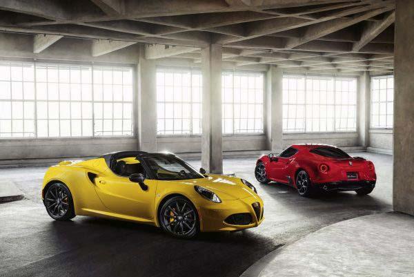 Για την στιγμή είναι όλη η γκάμα της Alfa Romeo στις ΗΠΑ...