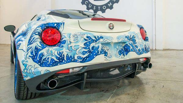 Alfa Romeo 4C 'Hokusai' by Garage Italia Customs