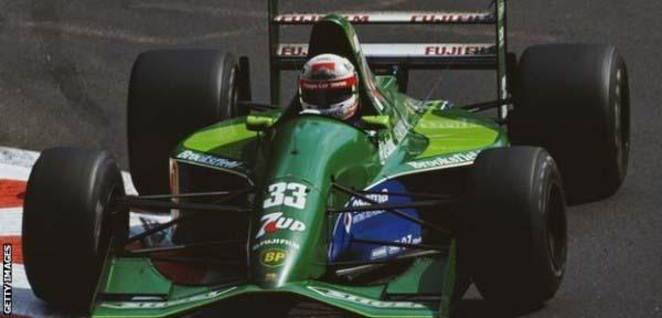 Η Jordan του De Cesaris (1991)