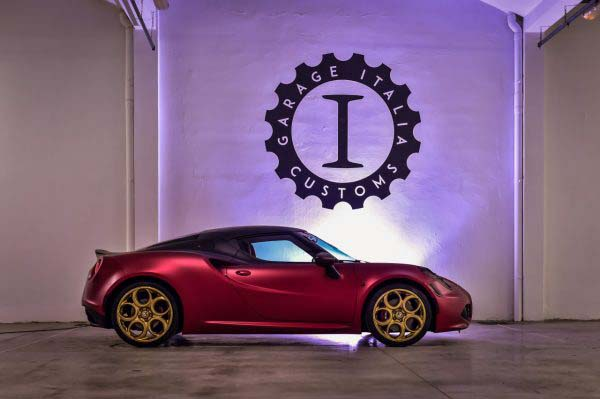 Alfa Romeo 4C 'La Furiosa' by Garage Italia Customs