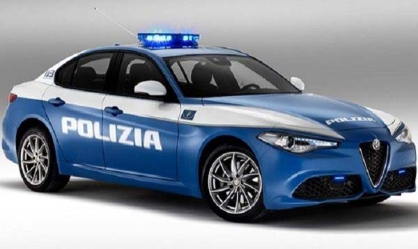 Alfa Romeo Giulia Veloce Polizia