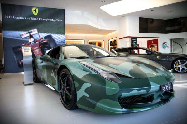 Ferrrari 458 'Army' by Garage Italia Customs