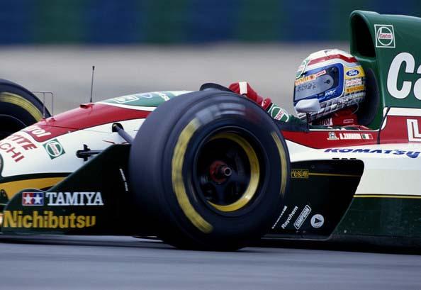o Alex Zanardi με την Lotus του