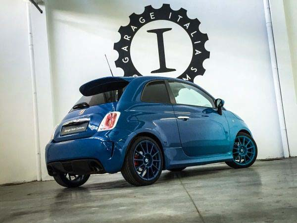 Abarth 500 'Blue Gradient' by Garage Italia Customs