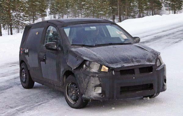 Το Fiat X6H σε χειμερινές δοκιμές