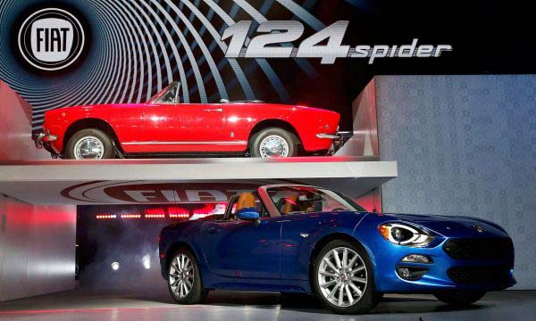 Παρουσίαση του νέου 124 Spider στο Los Angeles