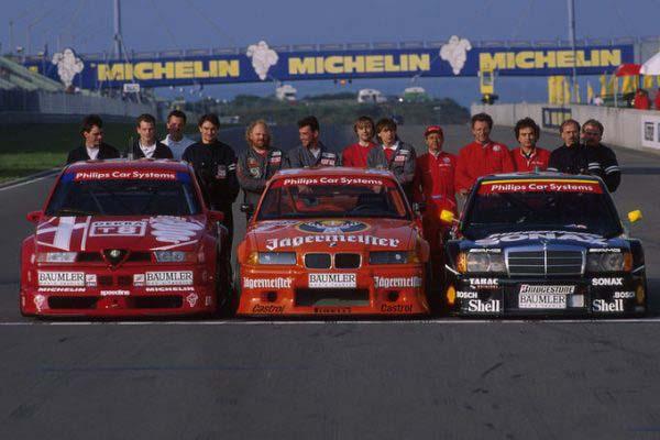 Οι κορυφαίες συμμετοχές του DTM 1993