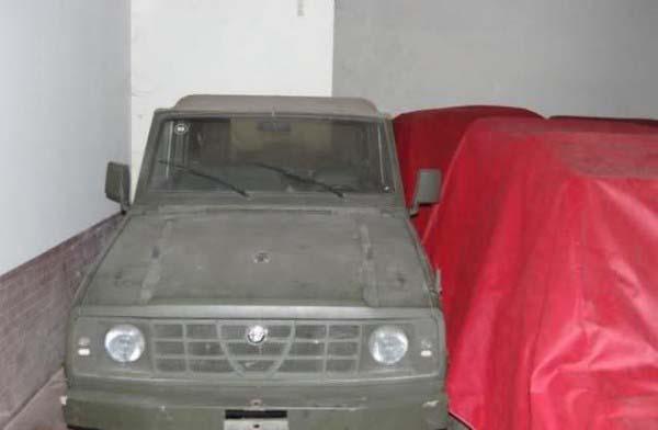 Πρωτότυπο για την Matta2 με αμάξωμα απο Nissan Patrol και κινητήρες VM Motori