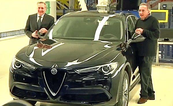 Alfredo Altavilla, Sergio Marchionne & Alfa Romeo Stelvio
