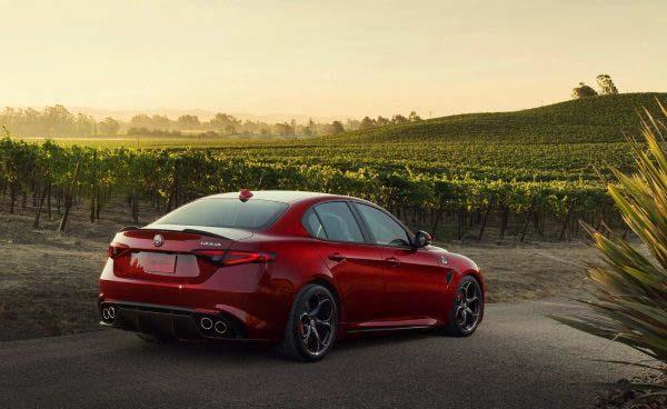 Alfa Romeo Giulia Quadrifoglio US Spec