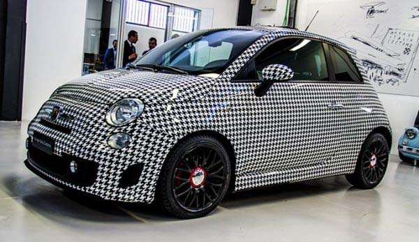 Abarth 500 'Pied-de-poule' by Garage Italia Customs