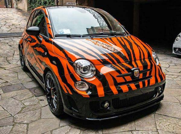 Abarth 500 'Tigrato' by Garage Italia Customs