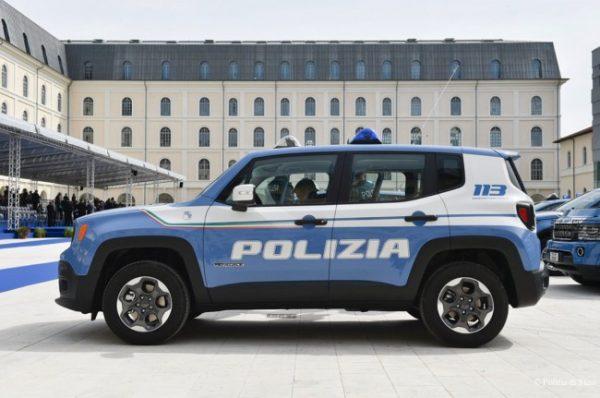 Jeep Renegade 2.0 TD 4x4 Sport Polizia