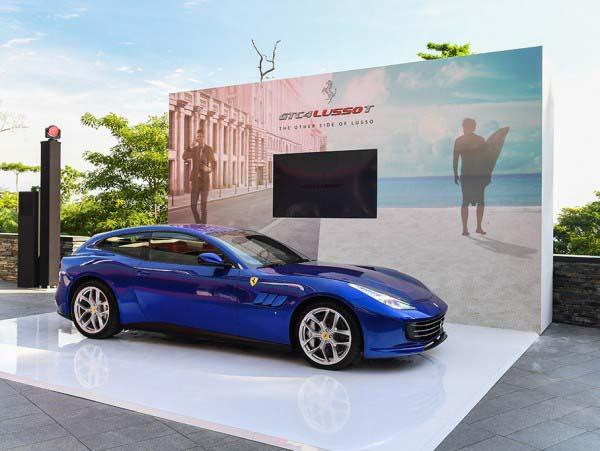 Ferrari GTC4LUSSO T Πηγή εικόνας: ferrari.com