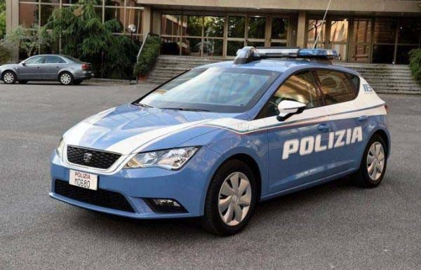 Seat Leon TDI Polizia