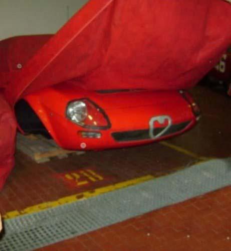 Πρωτότυπο κάποιου supercar που θα αντικαθιστούσε την 33 Stradale