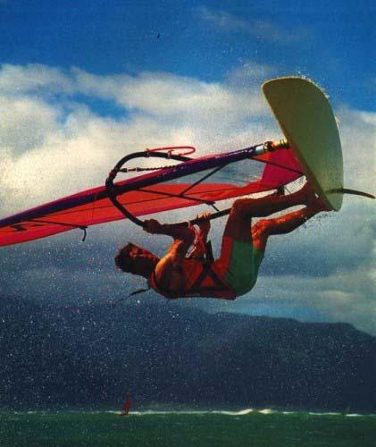 Κάνοντας Windsurfing