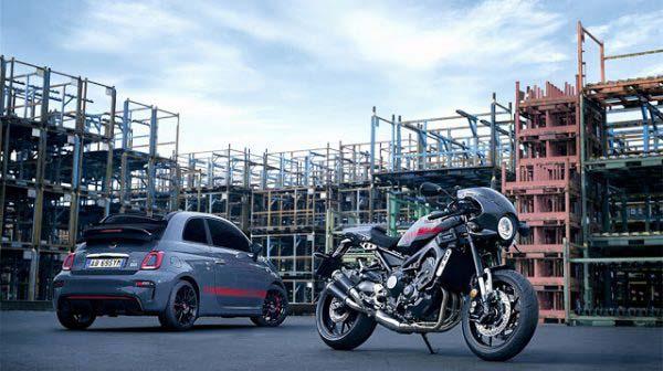 Yamaha 900 XSR Tributo Abarth και Abarth 695 Tributo XSR